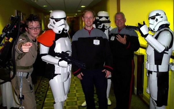 Sci-Fi Summer Con 2009 with GA501st and Starfleet.